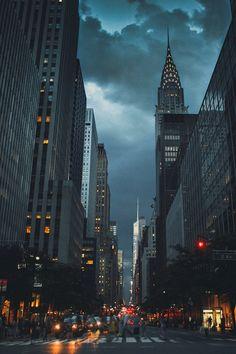 Fond Décran De New York Dans La Nuit Gratuit Wallpapers