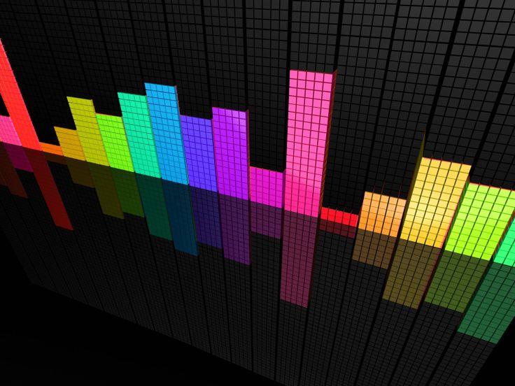 Music Bars Wallpaper: Fond D'écran Gamer